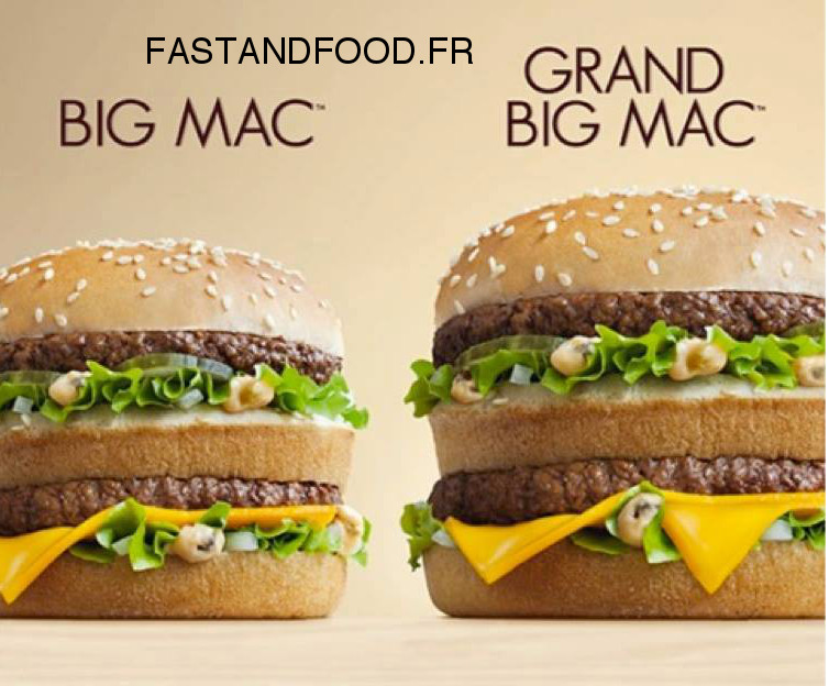 le grand big mac est de retour chez mcdonald 39 s fastandfood. Black Bedroom Furniture Sets. Home Design Ideas