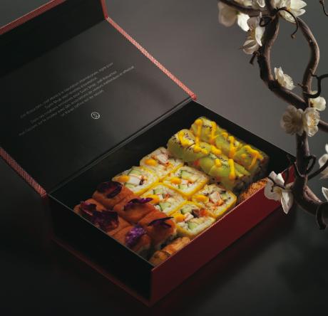 box robuchon Joël Robuchon signe la nouvelle carte Sushi Shop 2014