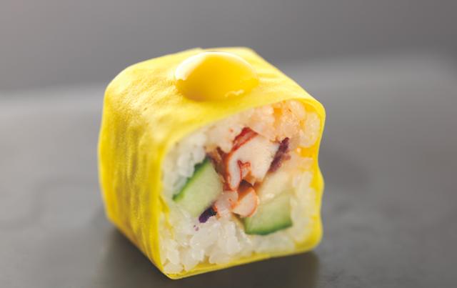 crispy lobster Joël Robuchon signe la nouvelle carte Sushi Shop 2014