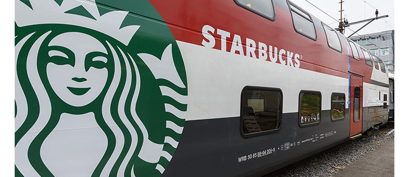 Starbucks fête l'été avec son bus sensoriel