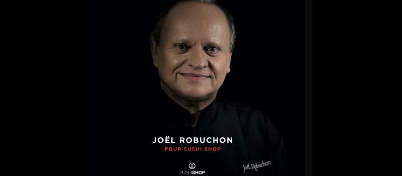 Joël Robuchon signe la nouvelle carte Sushi Shop 2014