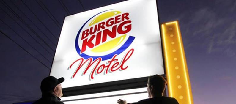 Un Burger King Motel en Nouvelle-Zélande pour les infidèles au Whopper