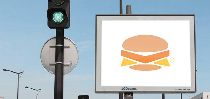 McDonald's se tape l'affiche