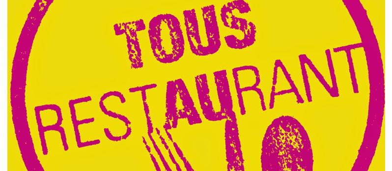 Tous au restaurant 2014 : Un menu acheté, un menu offert