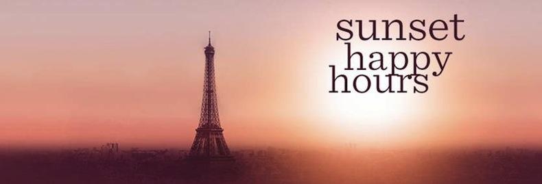 Sunset Happy Hours au Bar La Vue du Hyatt Regency Paris Etoile