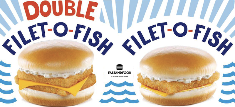 Le double filet o fish d barque chez mcdonald s for Filet o fish mcdonalds