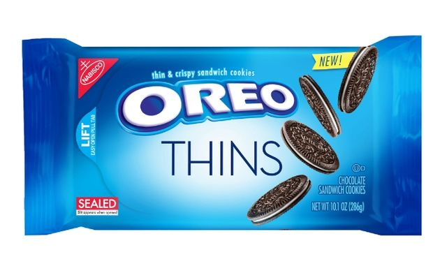 Oreo lance des biscuits plus fins avec moins de crème aux Etats-Unis