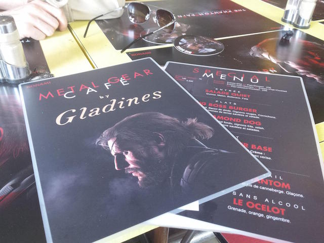Le jeu-video Metal Gear aura son café à Paris