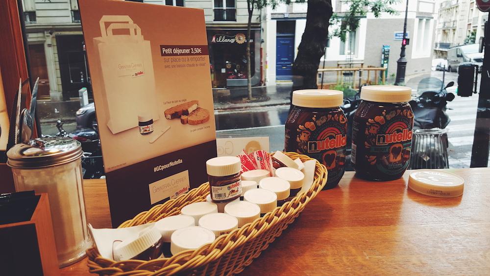 Le petit-déjeuner par Gontran Cherrier et Nutella