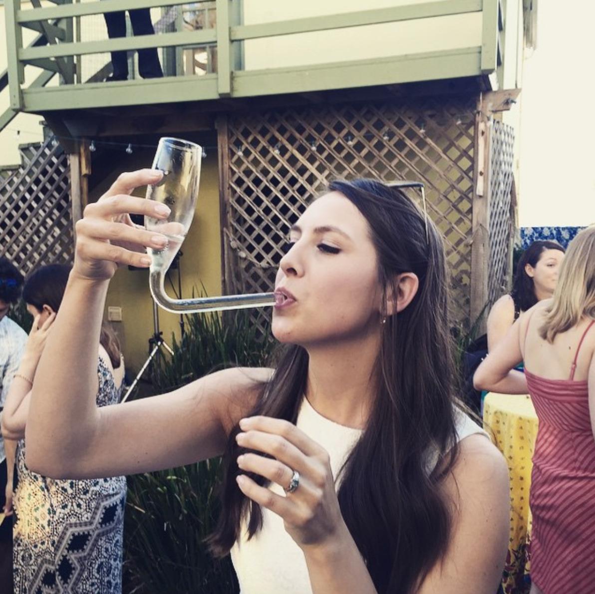 The Champagne Bong, où comment boire le champagne différemment..