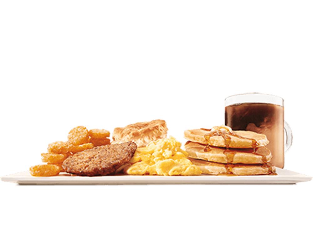 Un Burger King propose sa formule petit-déjeuner toute la journée