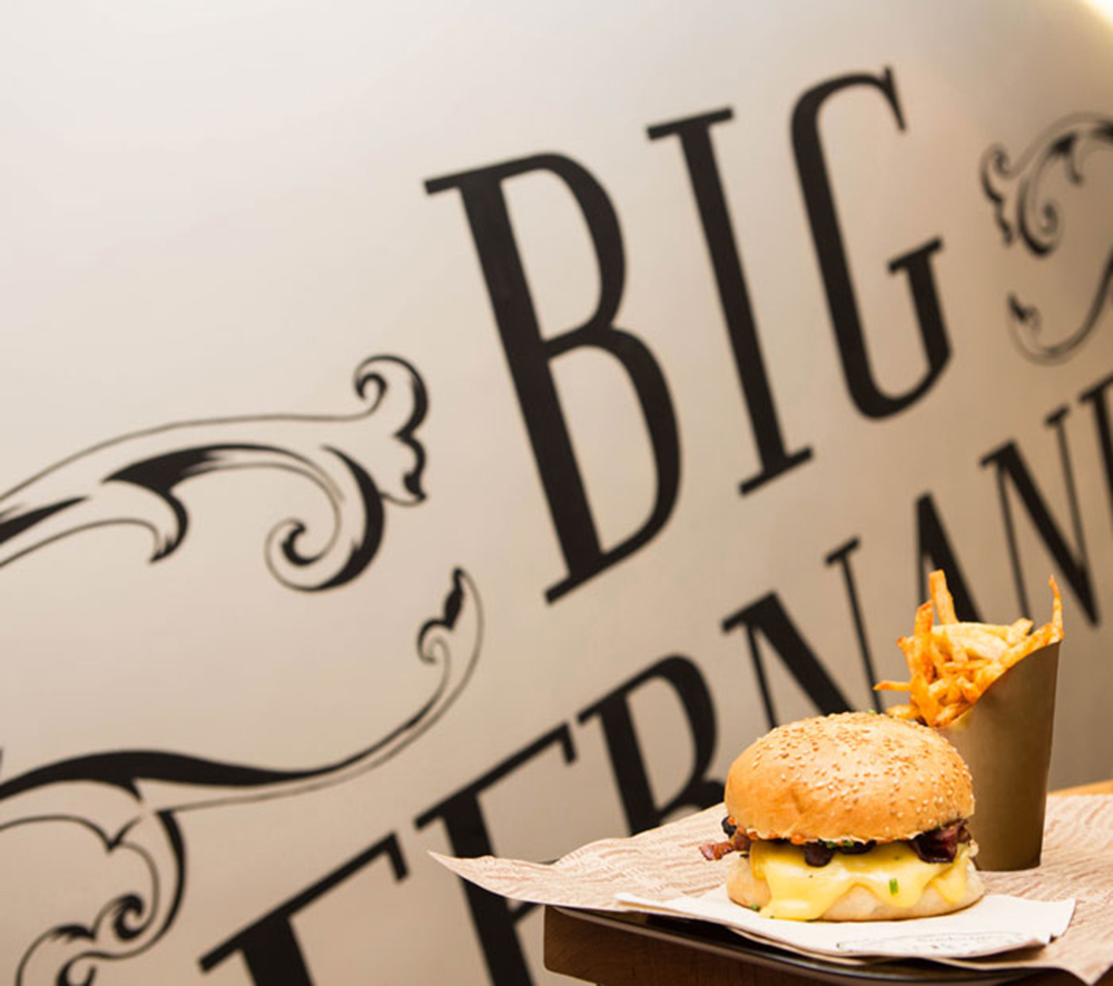 Big Fernand imagine un burger à la truffe pour la bonne cause