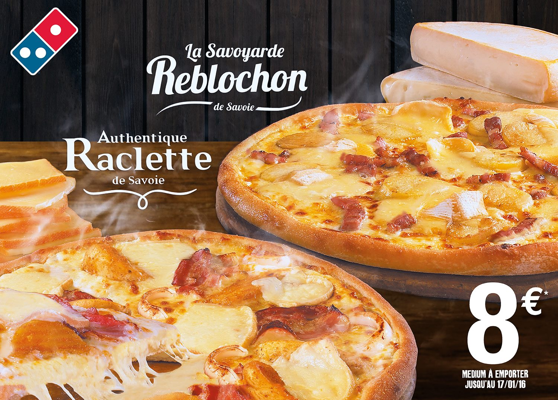 TEST : La Pizza Savoyarde Reblochon de Savoie de Domino's Pizza