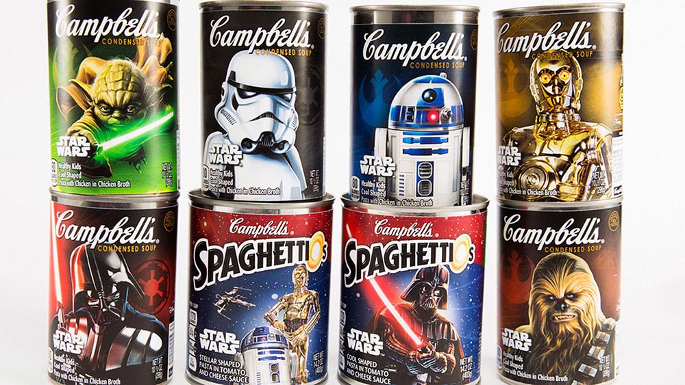 TOP : 10 produits comestibles Star Wars, tu découvriras