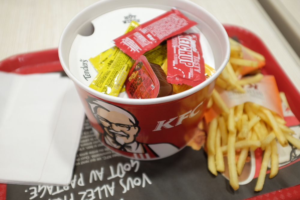TEST : Menu Friends Bucket KFC à 10€