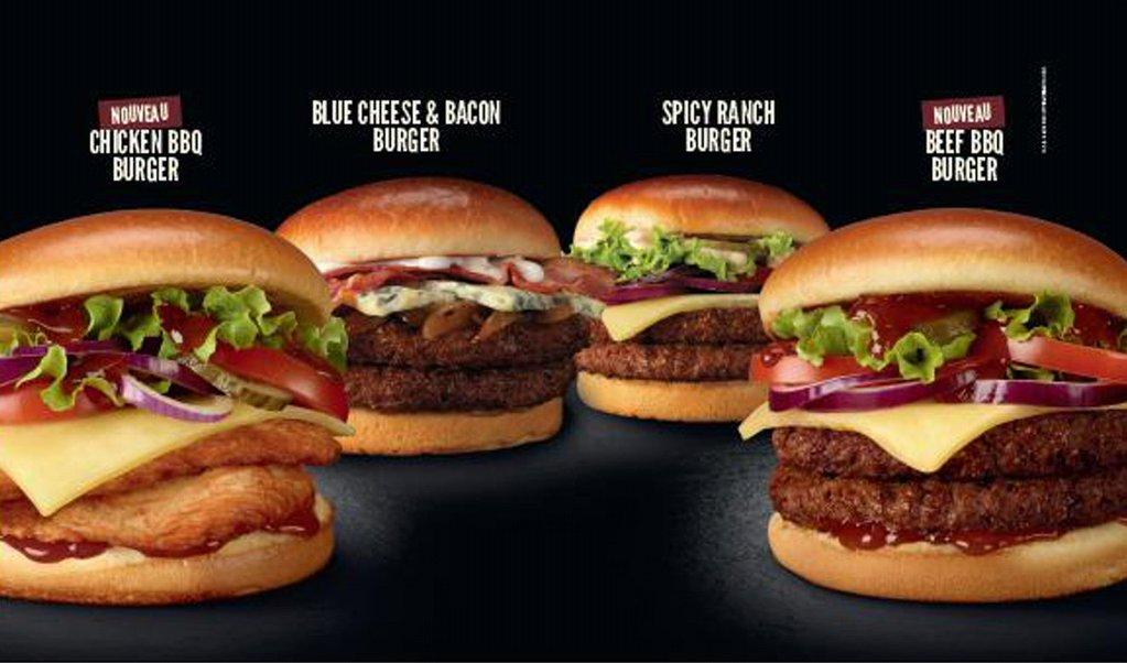 McDonald's lance 2 nouveaux burgers Signature