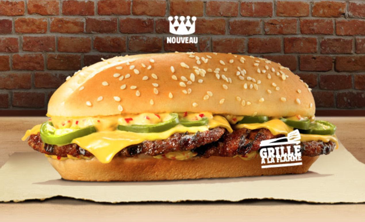 Burger King lance l'Xtra Long Chili Cheese