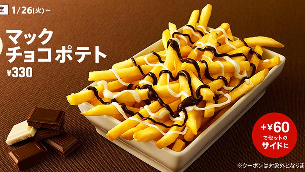Des frites McDonald's au chocolat, ça vous tente ?