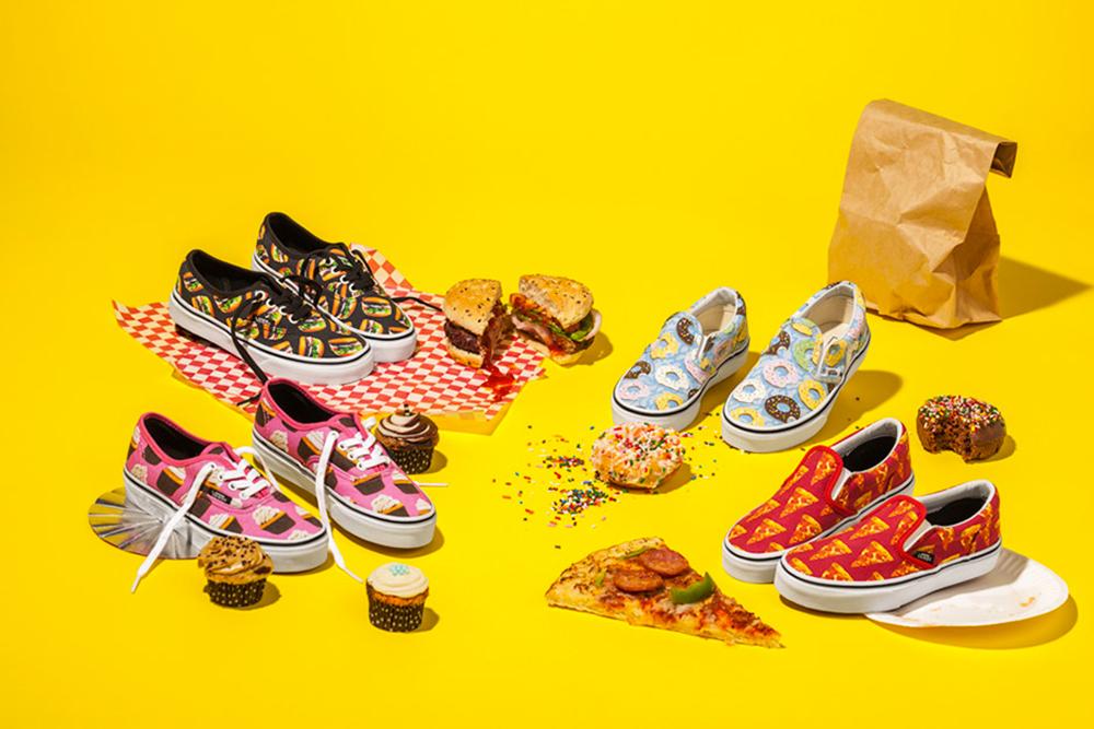Vans s'inspire de la junk food pour sa nouvelle collection