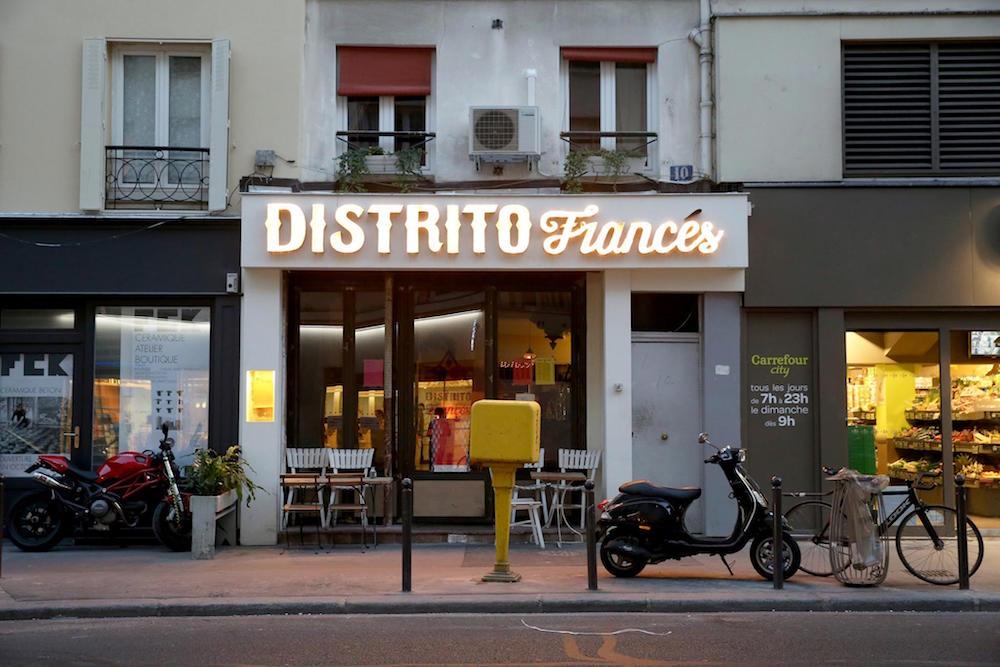 Distrito Francés lance une nouvelle recette pour la FastandFood Week
