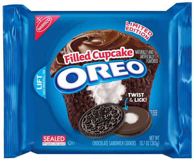 Les Oreo saveur Cupcake arrivent bientôt