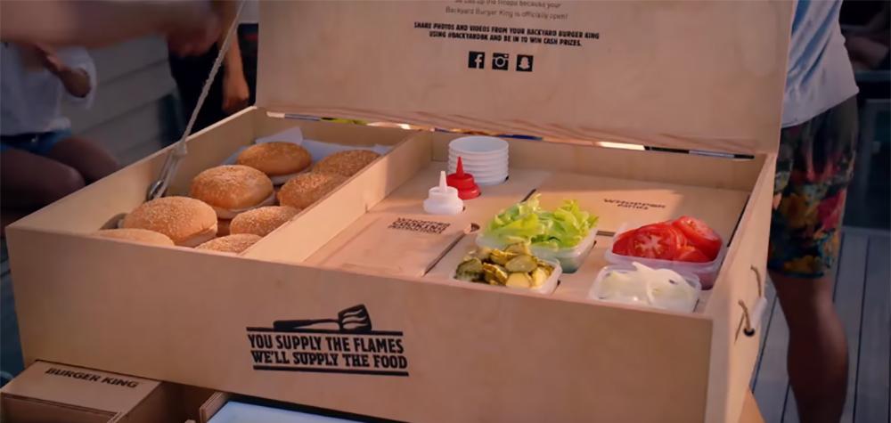 Burger King lance son kit barbecue