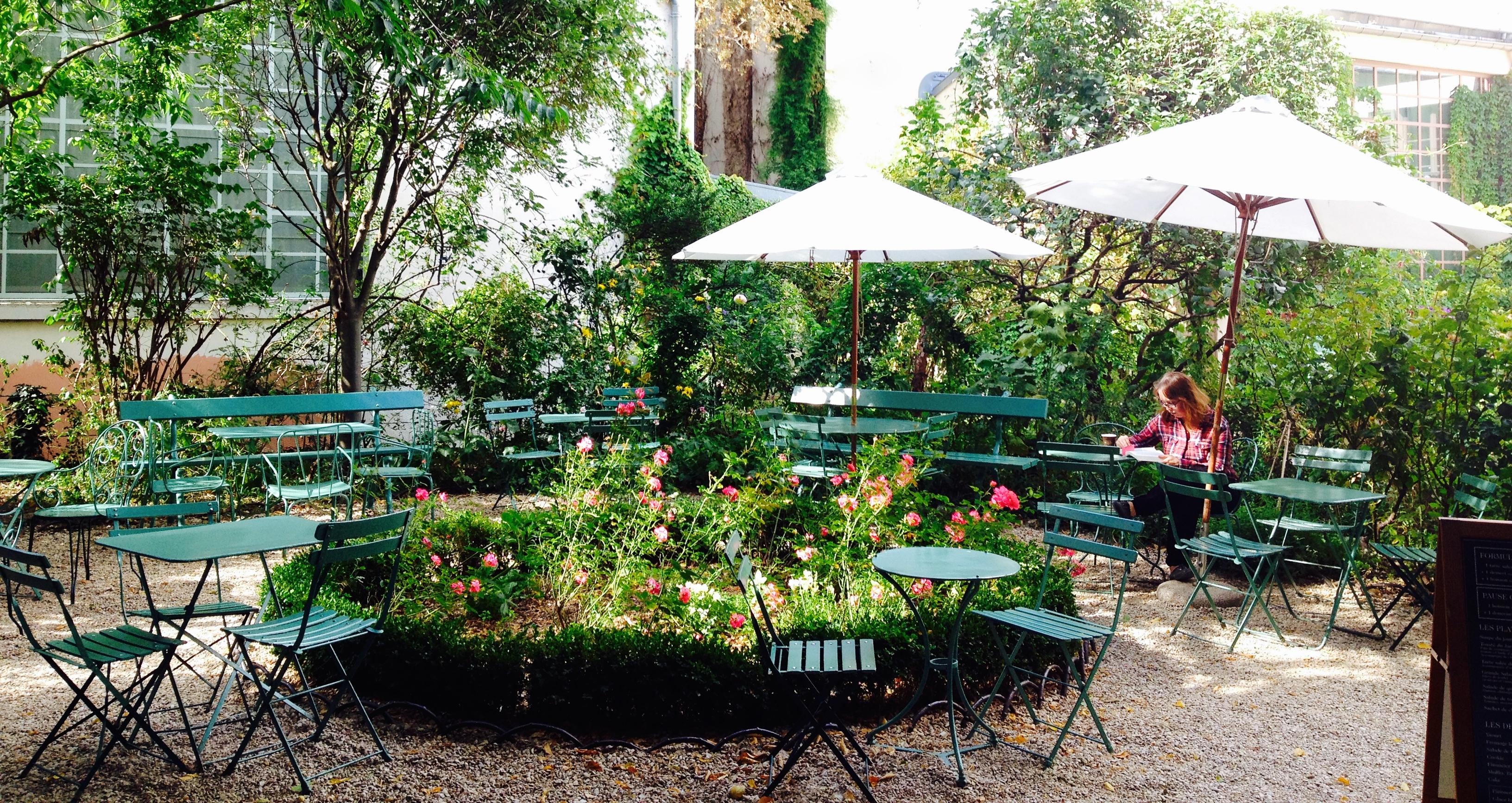 Top 5 lieux paris pour d jeuner au printemps fastandfood - Jardin du musee de la vie romantique ...