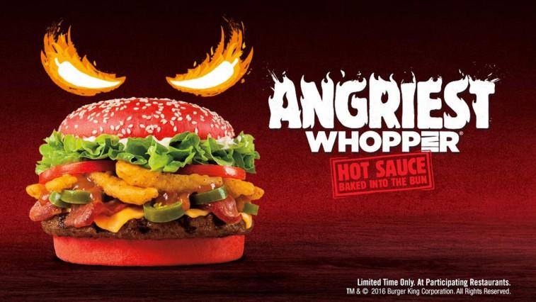 Burger King voit rouge avec son nouveau Whopper !