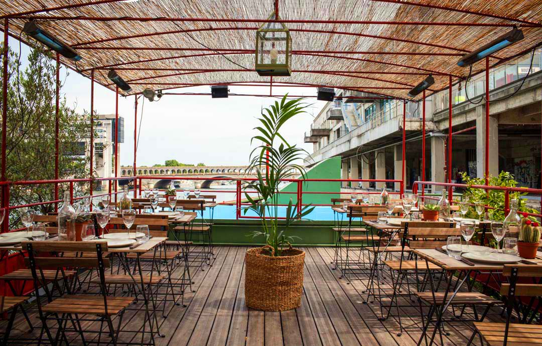 Top 5 lieux paris pour d jeuner au printemps fastandfood for Restaurant la piscine sarrebourg