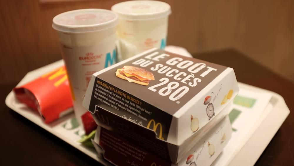 Le 280 revient en octobre chez McDonald's