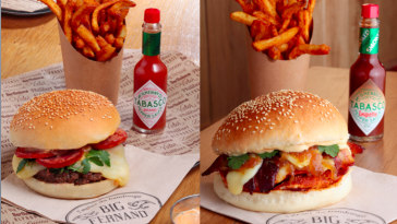 Big Fernand x Tabasco gamme burgers