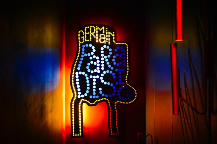le germain club paradisio le nouveau bar confidentiel saint germain. Black Bedroom Furniture Sets. Home Design Ideas
