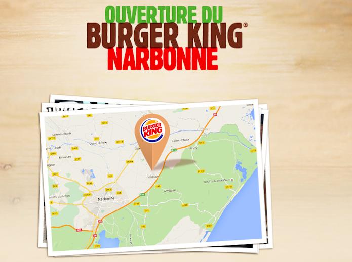 Burger King ouvre un restaurant à Narbonne