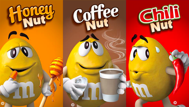 Élection de la nouvelle cacahuète M&M's aux US