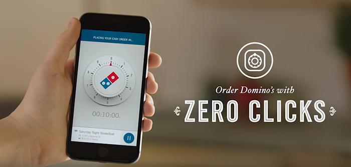 Avec Domino's, commandez votre pizza sans cliquer