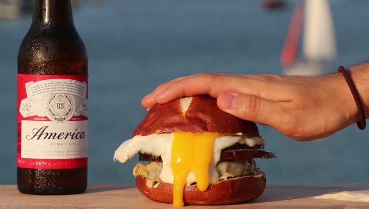 Le Burger Croque-Madame arrive tout droit des US !