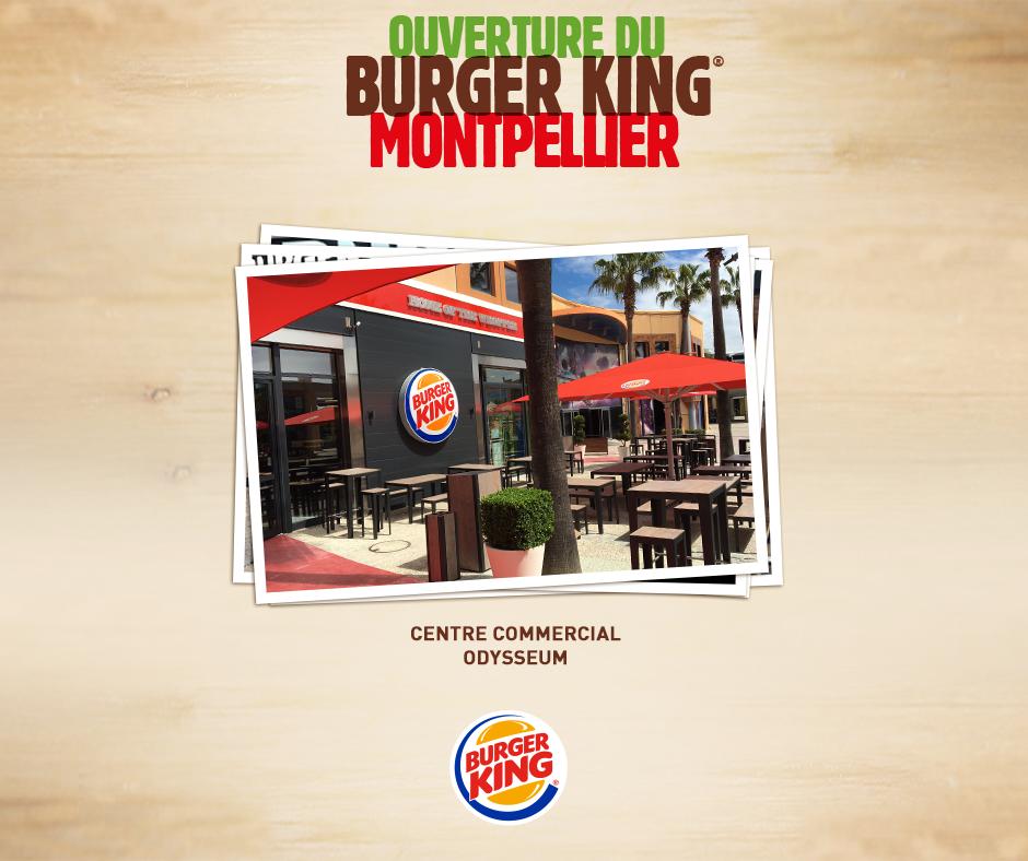 burger king ouvre son restaurant montpellier aujourd 39 hui. Black Bedroom Furniture Sets. Home Design Ideas