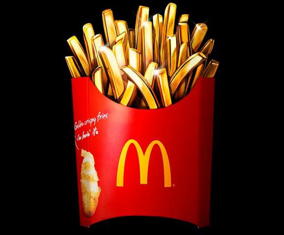McDonald's Japon offre à ses clients la chance de gagner des frites en or