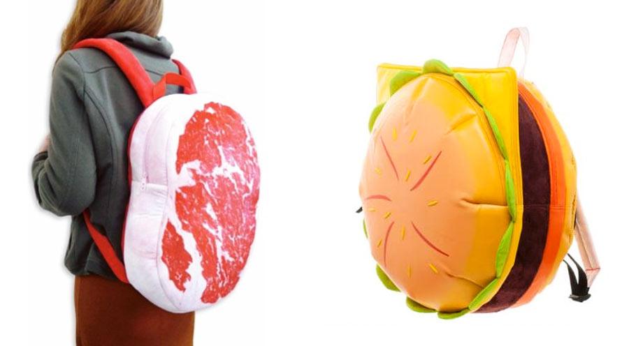 Craquez pour un sac à dos hamburger pour la rentrée !