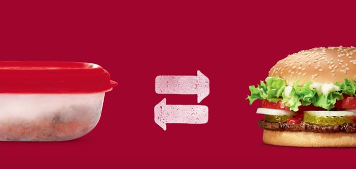 Burger King échange votre panier-repas contre un whopper