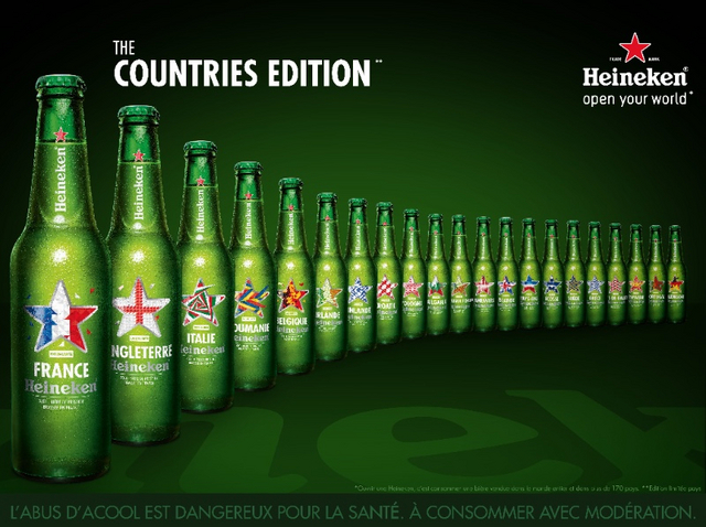 HEINEKEN lance sa collection The Countries Edition !