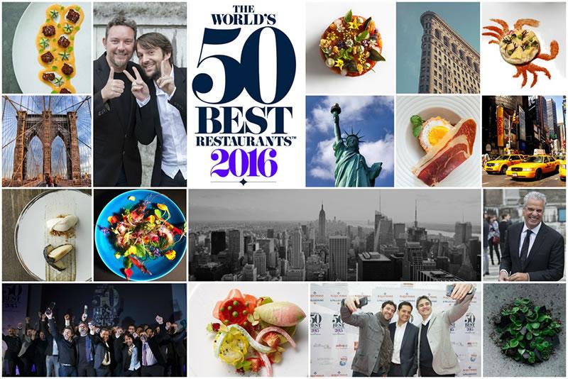 World's 50 Best 2016 : la liste des 50 premiers restaurants du classement
