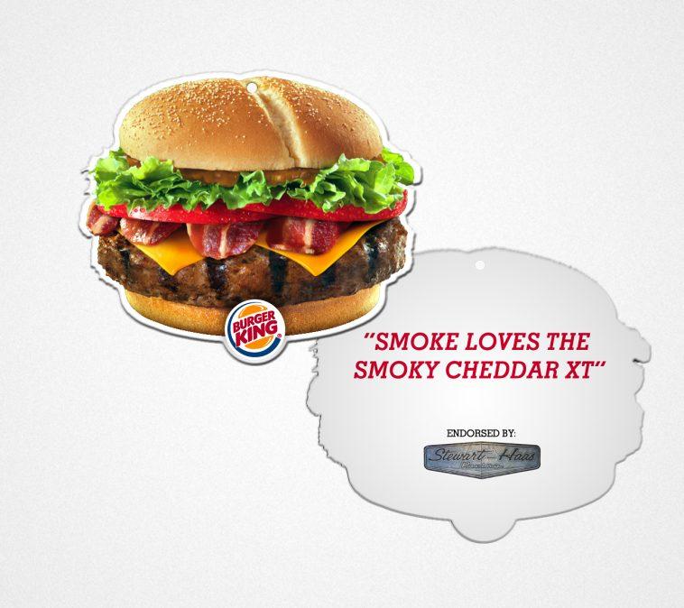 Burger King crée son désodorisant senteur Whopper pour voiture