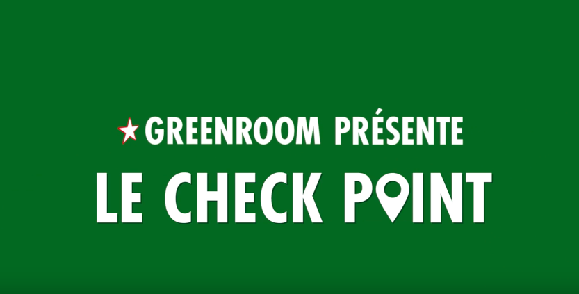 Greenroom x Solidays présentent le Check Point Greenroom