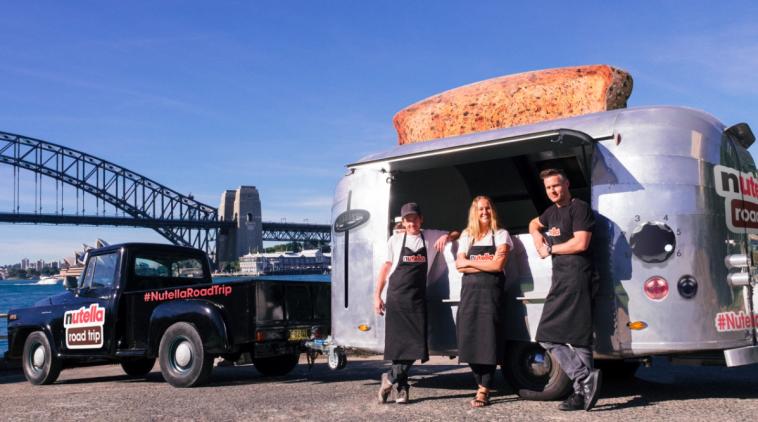 Nutella se fait un petit road trip à travers l'Australie