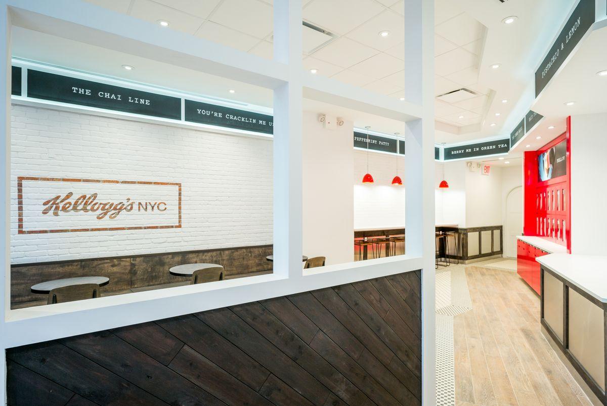 Kellogg's ouvre un bar à céréales à New-York