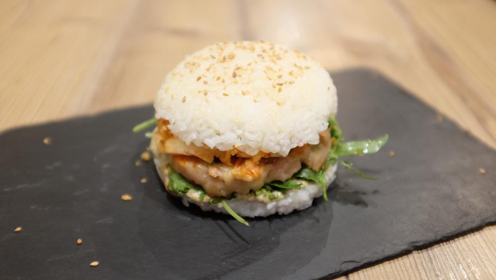 Le Rice Burger arrive enfin à Paris