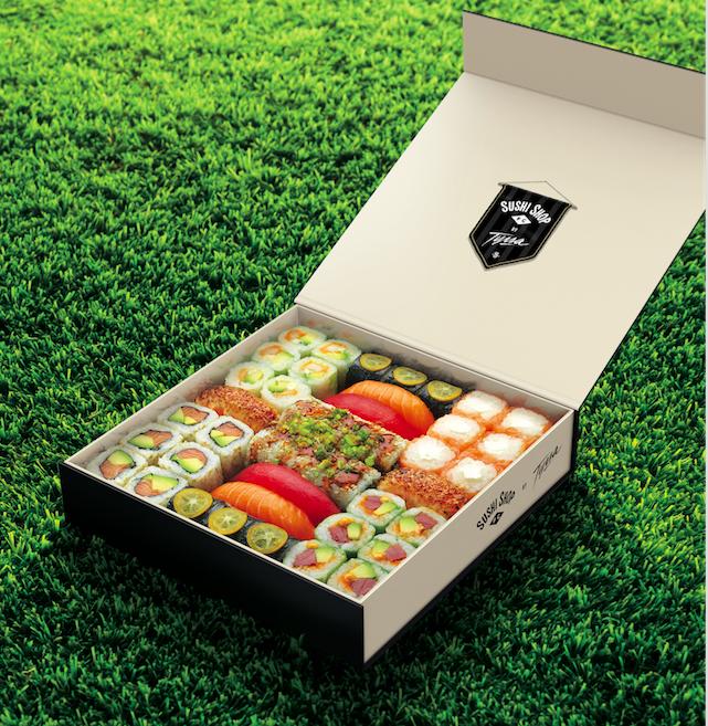 Euro 2016 : Sushi Shop lance la box SUSHI SHOP FOOTBALL CLUB