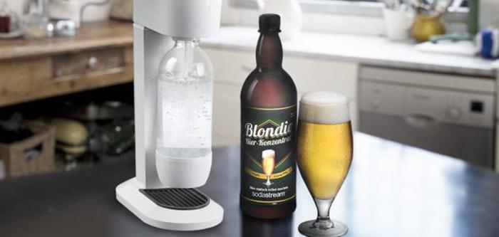 Sodastream crée une machine qui transforme l'eau en bière