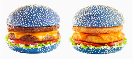 Speed Burger encourage la France avec deux nouveaux burgers au bun 100% bleus !
